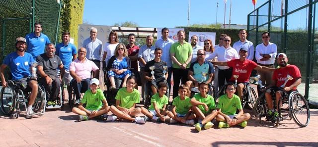 Entregados los premios del XI Torneo de tenis en silla de ruedas de Albacete