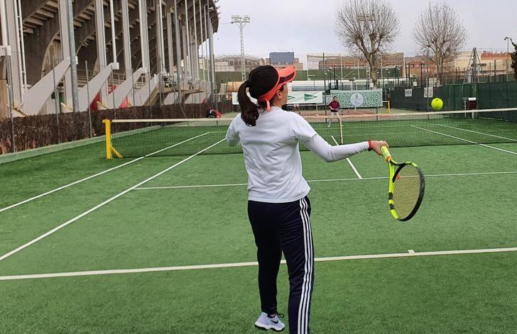 El Torneo de Navidad de tenis de Albacete llega a su final con los partidos Marchán-Pérez y Nerea Sevilla-Paz Cuenca
