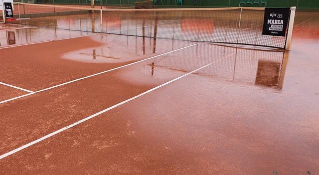 La 'gota fría' obliga a retrasar la fase final del Ciudad de Albacete de tenis, que se jugará del 20 al 22 de septiembre