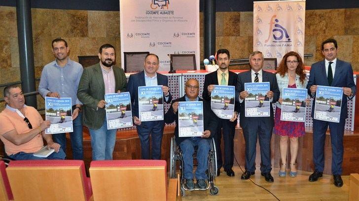 """El Ciudad de Albacete de tenis en silla de ruedas, ejemplo para terminar con barreras """"físicas y mentales"""""""