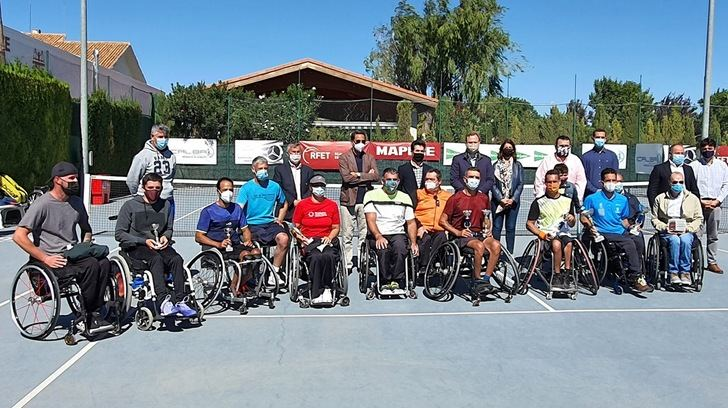 Quique Siscar conquistó su cuarto trofeo Ciudad de Albacete de tenis en silla de ruedas