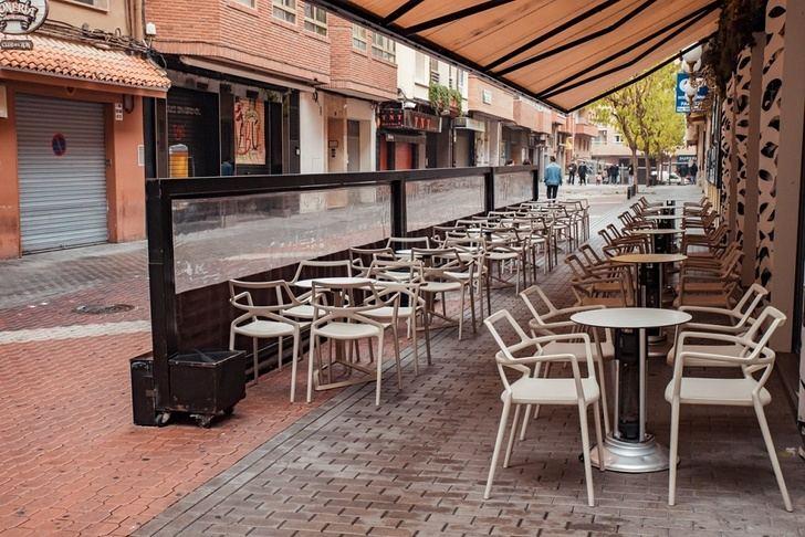La hostelería de Albacete 'condenada' a las terrazas en plena ola de frío.