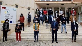 El campus de Albacete acoge la final del concurso Tesis en 3 Minutos con la presencia del rector de la UCLM