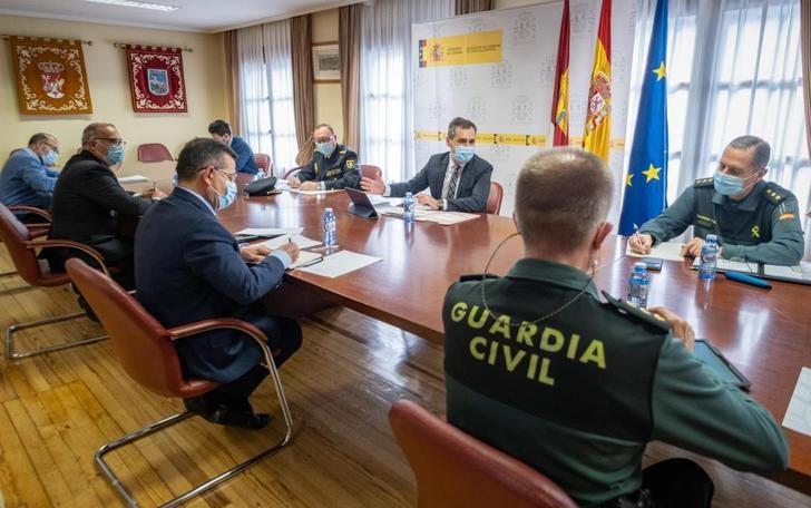 Los dispositivos policiales evitarán las entradas y salidas injustificadas de Castilla-La Mancha desde esta noche