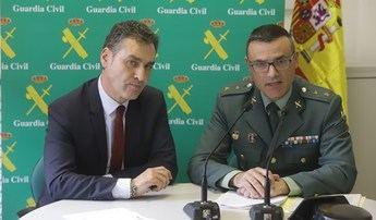 Desmantelado un grupo criminal responsable de 100 robos en hoteles, casas y vehículos de Guadalajara