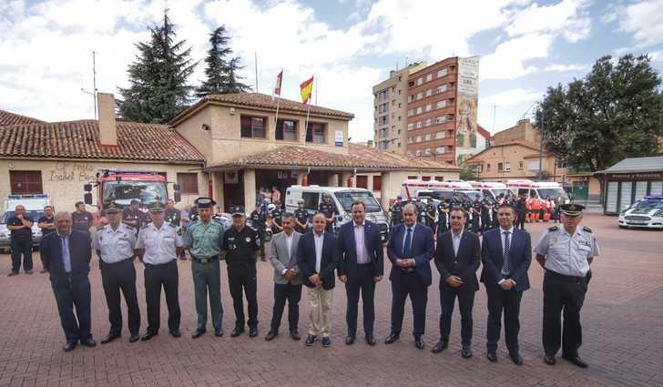 Pardo y Tierraseca destacan la seguridad que hay en la Feria de Albacete, pese a la multitud de visitantes