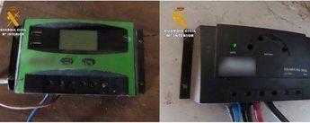 La Guardia Civil detiene a un vecino de Tobarra que se había especializado en el robo de elementos fotovoltaicos