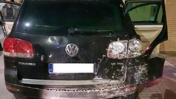 Detenido en Toledo un conductor tras embestir a varios coches y huir cuando iba a ser identificado por Policía Local