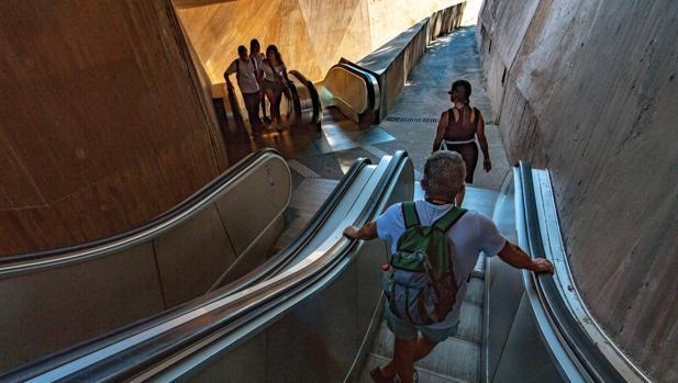 Imagen de archivo de las escaleras objeto ahora de la polémica