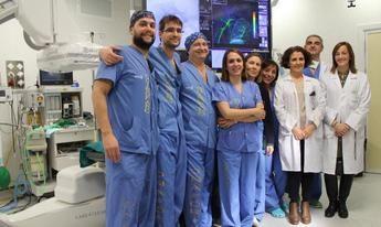 El Hospital de Toledo incorpora la embolización arterial para el tratamiento de la patología de 'hombro congelado'