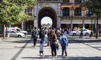 Imagen de archivo de la Plaza de Zocodover de Toledo.