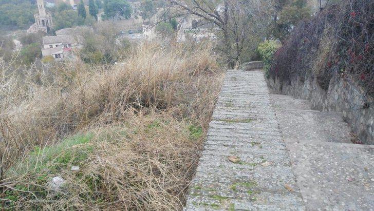Toledo mejora el entorno de los rodaderos del Paseo de Recaredo y el Cambrón a través de los programas de empleo