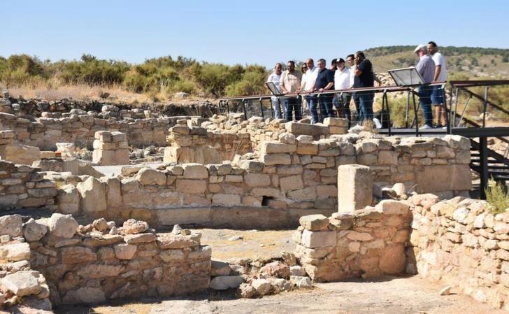 El parque arqueológico del Tolmo de Minateda (Hellín) suma ya más de 5.000 visitas