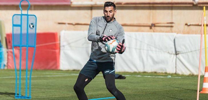 Tomeu Nadal, portero del Albacete, reconoce estar 'en el mejor momento' de su carrera deportiva