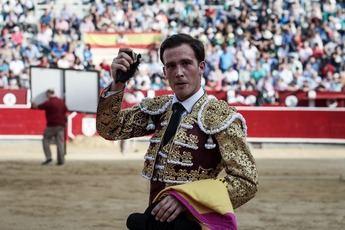 Toros. Sergio Felipe corta una oreja y brilló con luz propia en su regreso a los ruedos en Albacete