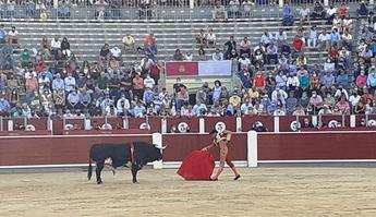 Miguel Ángel Perera cortó la única oreja de la tarde en la segunda de abono de Albacete