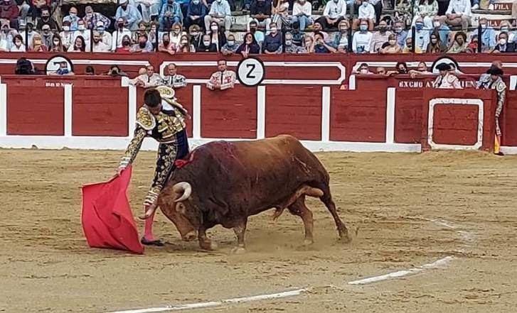 Manzanares salió a hombros en la vuelta de los toros a la plaza de Hellín (Albacete)
