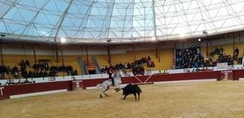 El Fandi y Galdós salieron a hombros en la plaza de toros de Tobarra