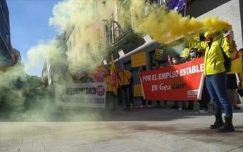 Trabajadores de Geacam amenazan con llevar su huelga a la campaña de extinción si Gobierno no cambia de 'talante'