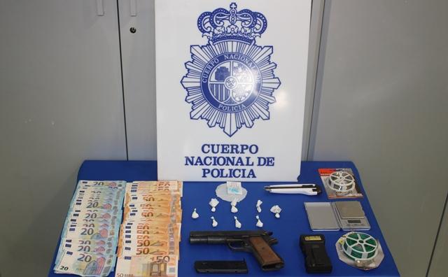 Un detenido en el inicio de la Feria de Albacete por tráfico de drogas en zonas de ocio