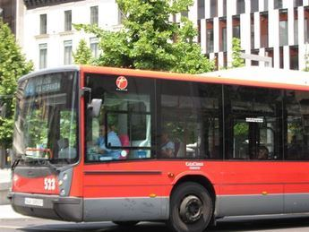 El transporte urbano en autobús aumenta un 4 por ciento durante el mes de enero en Castilla-La Mancha