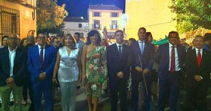 En Cenizate (Albacete) celebraron el traslado de la Abuela Santa Ana hasta la iglesia