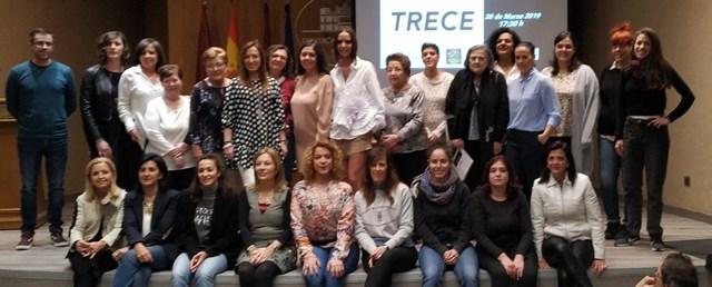 La presentación de TRECE completa las actividades de la Diputación de Albacete del Día de la Mujer