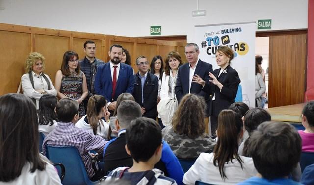 La Junta de Castilla-La Mancha aboga por implicar a toda la sociedad en la lucha contra el acoso escolar