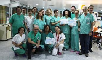La UCI de Albacete, reconocida por sus resultados en proyectos que mejoran la seguridad del paciente