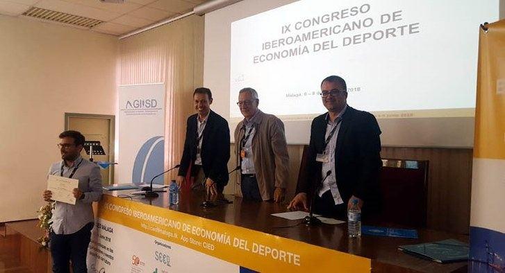 Dos trabajos de la UCLM fueron premiados en el IX Congreso Iberoamericano de Economía del Deporte