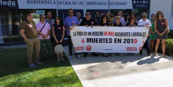 """UGT denuncia una """"semana trágica"""" en Albacete por la muerte de tres trabajadores"""