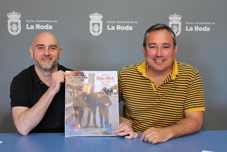 El grupo local 'Unos Rock Band' actuará en la noche de tributos de las fiestas mayores de La Roda