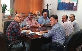 Los agricultores de UPA Albacete demanda soluciones a los daños de la 'gota fría'