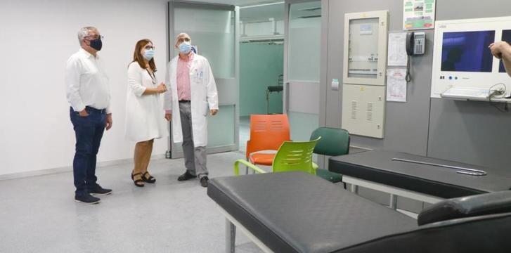 Las urgencias del Hospital de Hellín estarán disponibles de nuevo a finales de septiembre