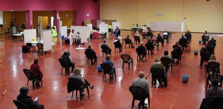 La vacunación del grupo de 60-65 años continúa durante el fin de semana en la provincia de Albacete