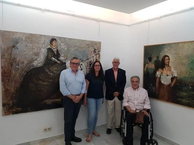 La exposición de José Ángel Ramirez se podrá visitar en el Museo de Hellín hasta el 22 de julio
