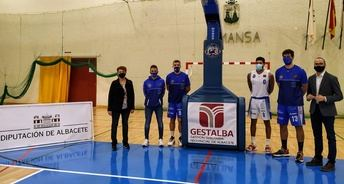 """La Diputación de Albacete mantendrá su compromiso con el CB Almansa, """"el mejor equipo de baloncesto de la región"""""""
