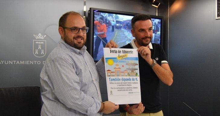Albacete quiere volver a tener una Feria muy limpia y amplía el servicio con 127 operarios