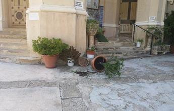 Importantes daños en el Santuario del Rosario de Hellín, causados por algún vándalo