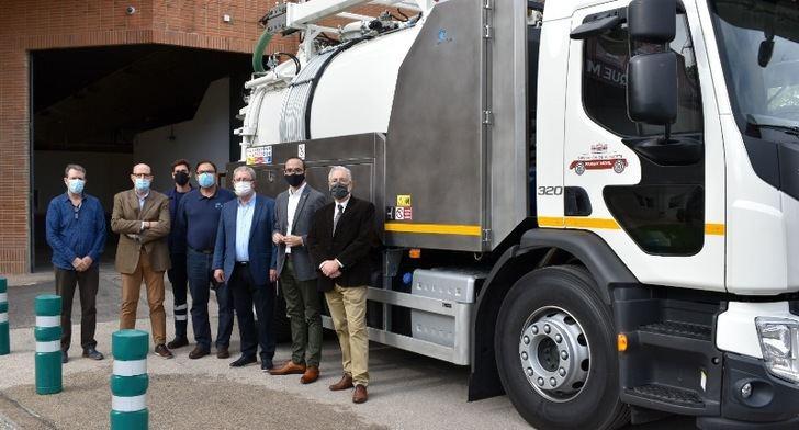 Nuevo vehículo para la Diputación de Albacete para desatasque de alcantarillas y desinfección de vías