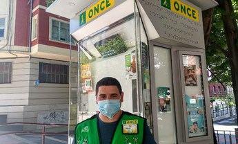 Los vendedores de la ONCE vuelven a vender sus cupones en la provincia de Albacete desde el lunes día 15 de junio
