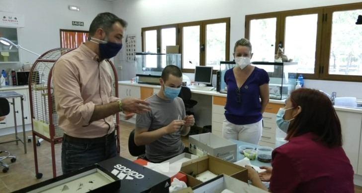 El Centro de Recuperación de Fauna de Albacete ya ha atendido a 447 animales en 2020