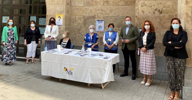 El Ayuntamiento de Albacete ofrece su apoyo a AFA en su labor por hacer visible la realidad del Alzheimer
