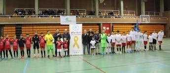 Albacete se vuelca con el partido benéfico en favor de Afanion