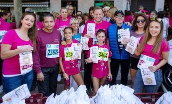 1.400 participantes en la undécima edición de la Carrera de la Mujer que organiza AMAC en Albacete