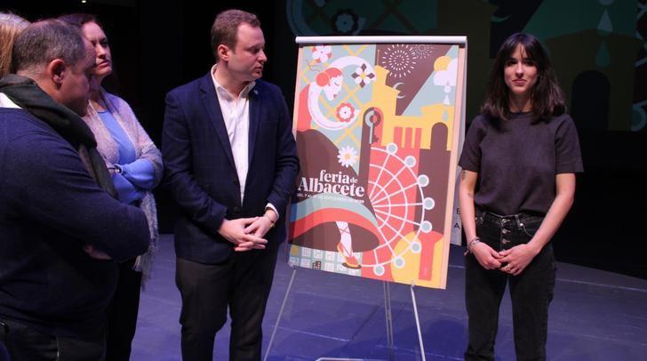 La Feria de Albacete 2020 ya tiene su cartel, una obra de la joven diseñadora local Celia Navalón