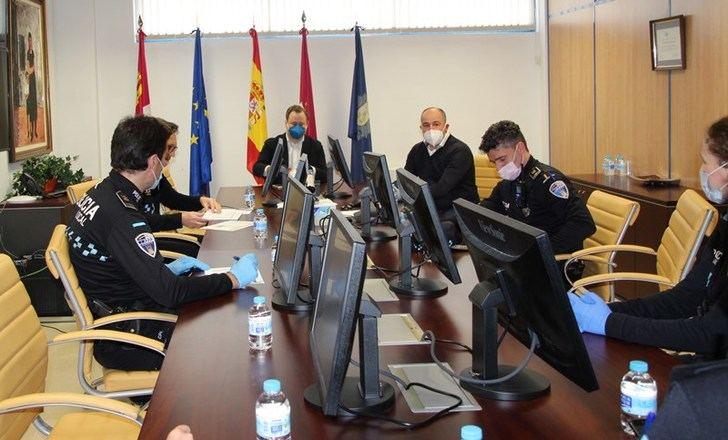 El Ayuntamiento de Albacete destaca el trabajo de la Policía Local durante el estado de alarma