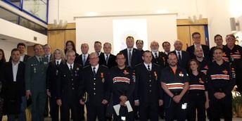 Protección Civil Albacete homenajea a sus voluntarios con 15 años de dedicación en su XXXI aniversario