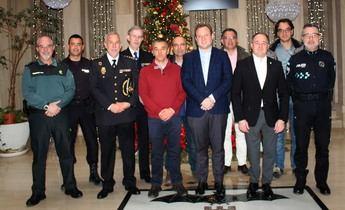 Mayores medios y más vigilancia para unas Navidades seguras en Albacete