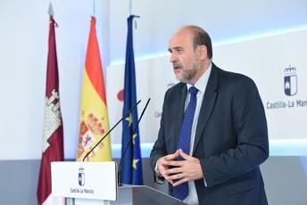 Martínez Guijarro fue el portavoz de lo señalado por Page en la reunión de los presidentes y Sánchez.
